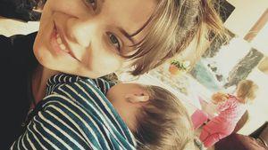 Erstes Foto zu dritt: Lisa Wohlgemuth zeigt ihre beiden Kids