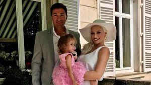 Ganz stilvoll: Daniela mit Lucas & Sophia beim Pferderennen