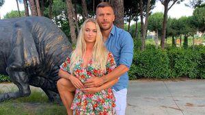 Neun Jahre Ehe: Lukas Podolski schwärmt von seiner Monika