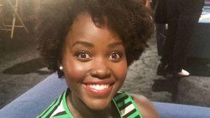 Afro-Locken: Lupita Nyong'o überrascht mit neuem Look