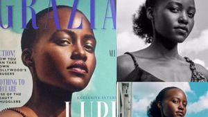 """Lupita Nyong'o: Wütend über retuschiertes """"Grazia""""-Cover!"""