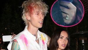 Verdächtiger Ring: Haben sich Megan Fox und MGK verlobt?