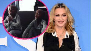 Madonna und ihre Töchter Esther und Stella