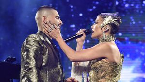 So kombiniert Sänger Maluma seine Tour und Freundin Natalia