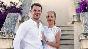Manuel Neuer und Nina Weiss bei ihrer Just-White-Party in Italien