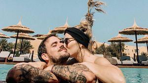 Nach Baby-News: Marc Barthel & Anna Hofbauer genießen Urlaub