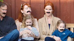 Marcia Cross überrascht mit haarigen Family-Fotos