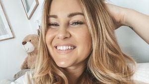 Maren Wolf happy: Sie darf die Klinik endgültig verlassen