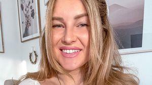 Kurz vor Geburt: Maren Wolf wurde mit Baby-Party überrascht
