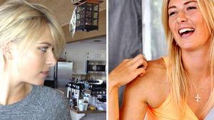 Wow! Maria Sharapova zeigt sich mit kurzen Haaren