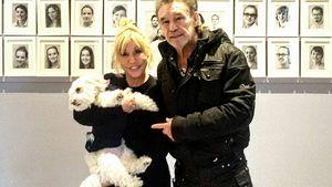 Maria und René Weller mit Hündin Bella