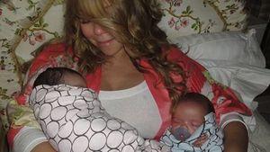 Bitte? Mariah Carey ließ bei Twin-Geburt eigene Songs laufen