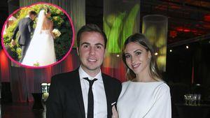 Ann-Kathrin und Mario Götze bedanken sich für Hochzeitsgrüße