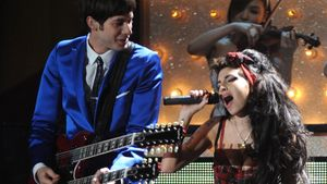 Amy Winehouse und Mark Ronson