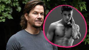 Mark Wahlberg und Justin Bieber
