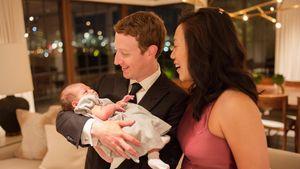 Mark Zuckerberg: Mit süßem Family-Pic zu dritt ins neue Jahr