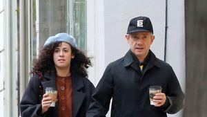 Neue Liebe? Filmstar Martin Freeman mit Unbekannter erwischt