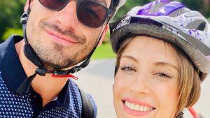 Sportlich unterwegs: Cathy Hummels teilt Paar-Pics mit Mats