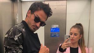 Lässiges Couple-Pic: Mats & Cathy Hummels im Coolness-Battle