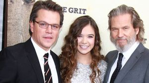 Matt Damon, Hailee Steinfeld und Jeff Bridges