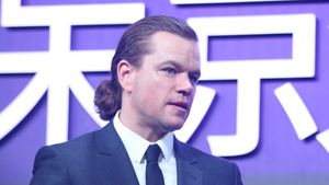 "Matt Damon bei der ""Jason Bourne 5""-Premiere 2016 in Peking"