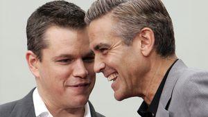 Matt Damon und George Clooney