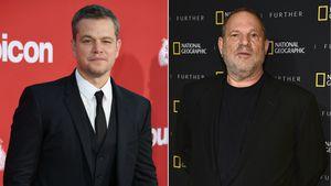 """Missbrauchs-Drama: Matt Damon hält Weinstein für """"A***loch"""""""
