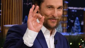Matthew McConaughey in der 'The Tonight Show Starring Jimmy Fallon'