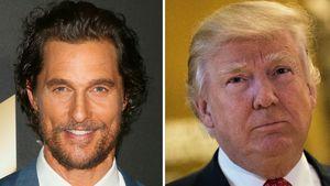 Matthew McConaughey und Donald Trump