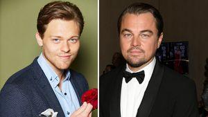 Ähnlich? Bachelorette-Maurice mit Leo DiCaprio verwechselt!