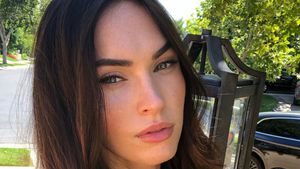 All-Black-Outfit: Megan Fox flasht im sexy Businesslook!