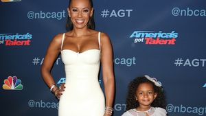 Mel B. mit Tochter Madison Brown Belafonte in Hollywood