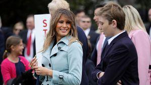 Melania Trump hat ihren Sohn Barron (12) vor Drogen gewarnt