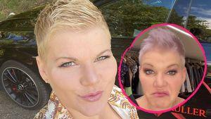 Nun lila statt blond: Melanie Müller hatte einen Farbunfall!