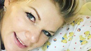 """Noch ein Baby-Bild! Melanie Müller """"glücklichster Mensch""""!"""