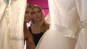 Yvonne Woelke heiratet: Mit BFF Mica beim Brautkleidkauf