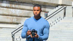 Am Filmset: Michael B. Jordan lässt die Muskeln spielen