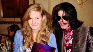 Michael Jackson mit seiner Patentochter Harriet Lester