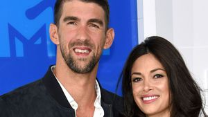 Michael Phelps und seine Verlobte Nicole Johnson bei den VMAs in New York