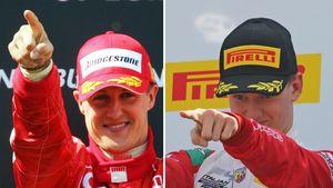 Michael Schumacher und Mick Schumacher