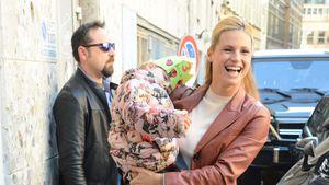 Michelle Hunziker mit Tochter Sole