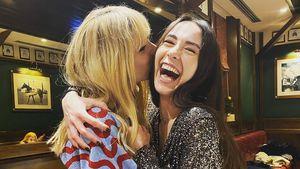 Michelle Hunziker gibt Tochter Aurora Geburtstags-Bussi!