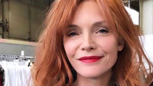 Besser als blond? Michelle Pfeiffer hat jetzt rote Haare
