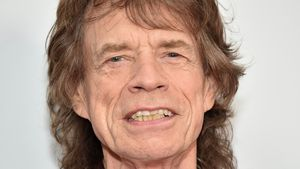 Mick Jagger bei der Rolling Stones Exhibitionism Ausstellung in New York