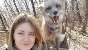 Mikayla Raines, die Fuchs-Flüsterin