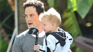 Luca Comrie und Mike Comrie