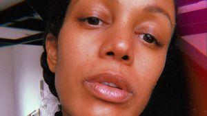 Milka Loff Fernandes für ungeschminktes Gesicht beleidigt