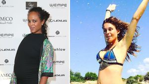 Moderatorin Milka Loff Fernandes und TV-Gesicht Angelina Posth
