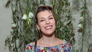Endlich: Model Milla Jovovich ist wieder Mama geworden!