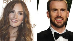 Chris Evans und Minka Kelly